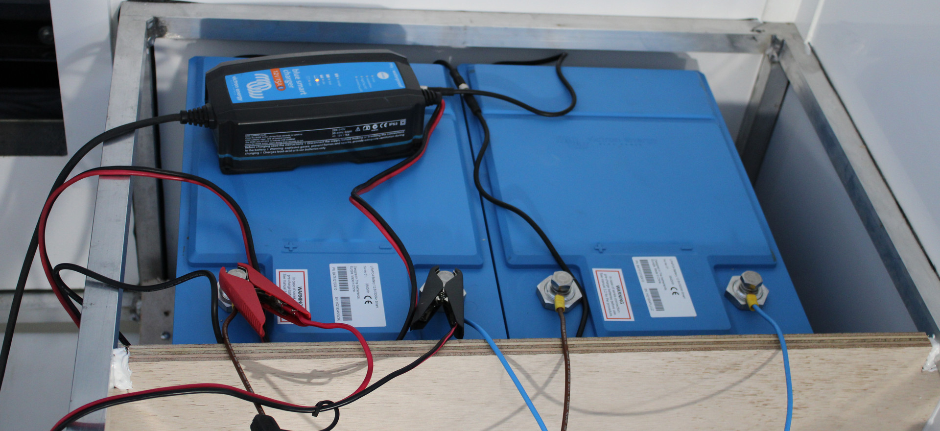 Pre Charge the Lithium Batteries