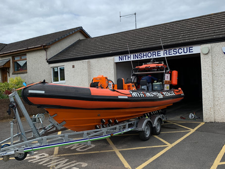 Helping the Nith Lifeboat