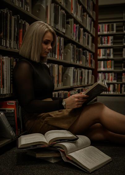 Library Photo Shoot
