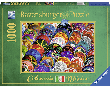 Rompecabezas 1000 piezas Platos Mexicanos Ravensburger