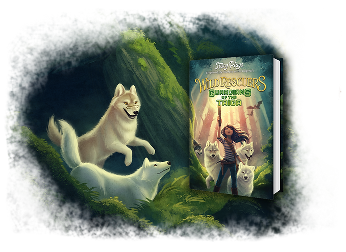 Wild Rescuers: Guardians of the Taiga in hardcover!