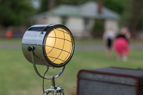 Pair Vintage spotlights