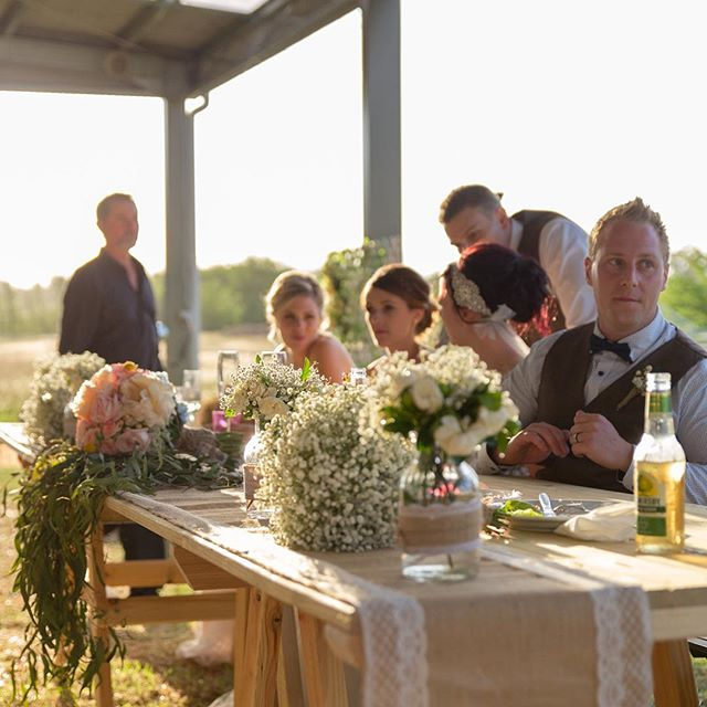 Bridal table #rusticwedding #farmwedding #vintageeventshire #lovelocalcamden #camdentownfarm
