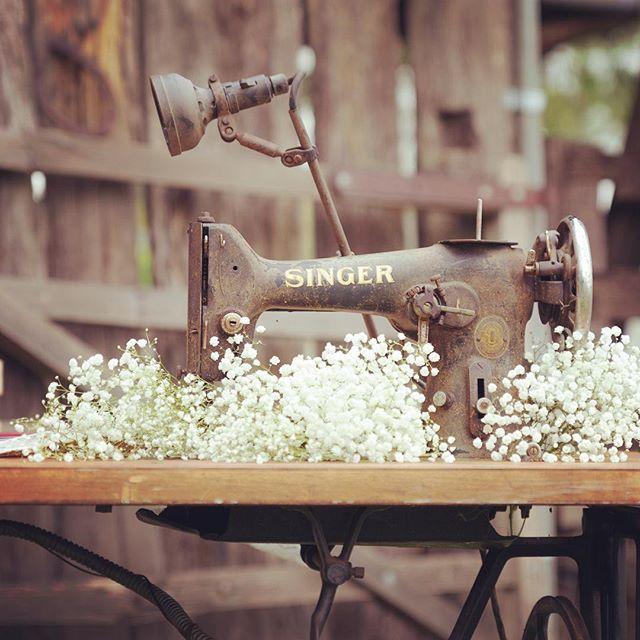 Vintage signing table #vintageeventshire #rustic #wedding #camdentownfarm #macarthur #southernhighla