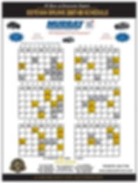 Custom Printed Schedule Magnets Toronto Canada