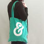 Green Fabric Bag