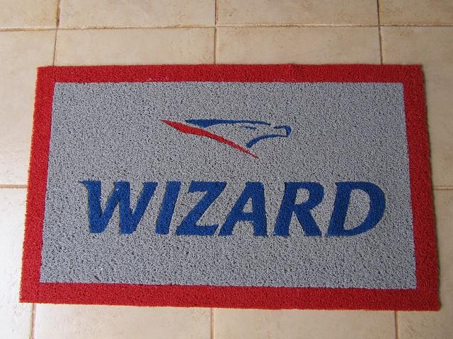 Capacho Personalizado Wizard