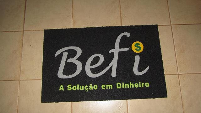 Capacho Personalizado Befi