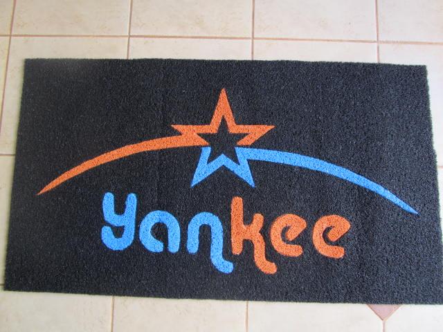 Capacho Personalizado Yankee
