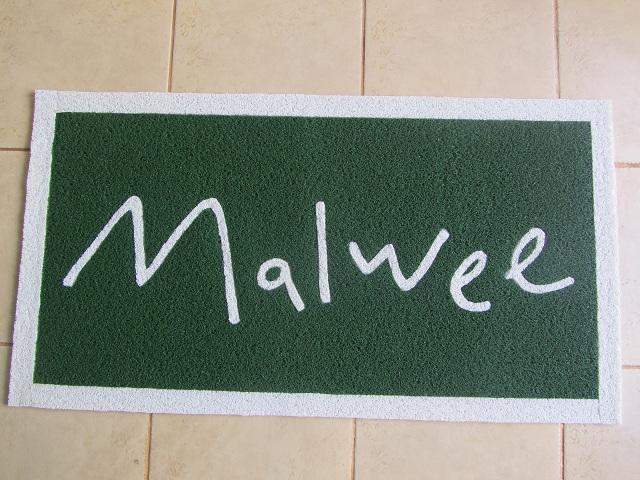 Capacho Personalizdo Malwee