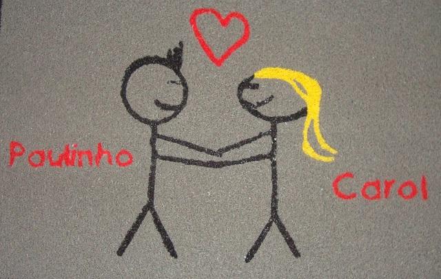 Paulinho e Carol