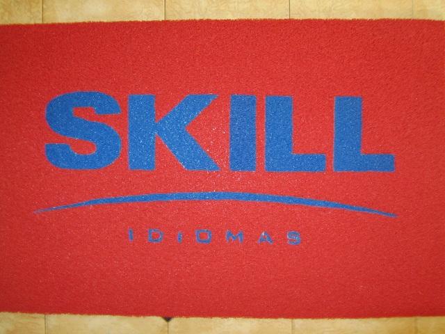 Capacho Personalizado Skill