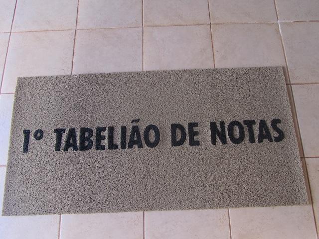 1° Tabelião