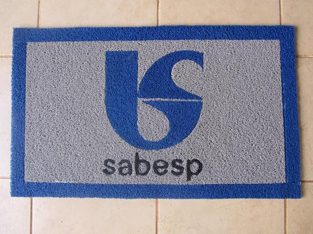 Capacho Personalizado Sabesp