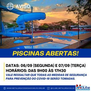 PISCINAS ABERTAS
