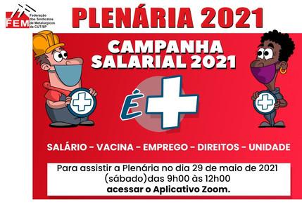 Sindicato participa da Plenária da Campanha Salarial no sábado (29)