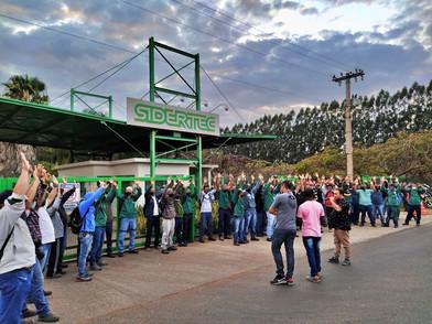 Após mobilização, trabalhadores na Sidertec conquistam PLR
