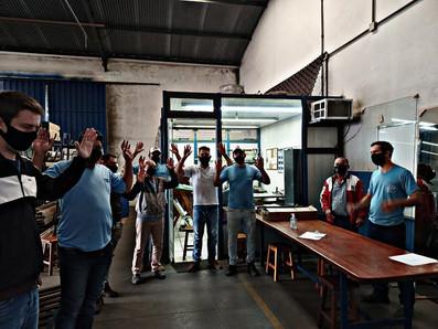 Trabalhadores na Prodal aprovam PLR 2021