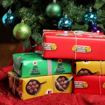 Sausage-Scented Wrapping Paper