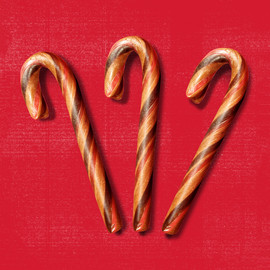 Sausage-Flavored Candy Canes