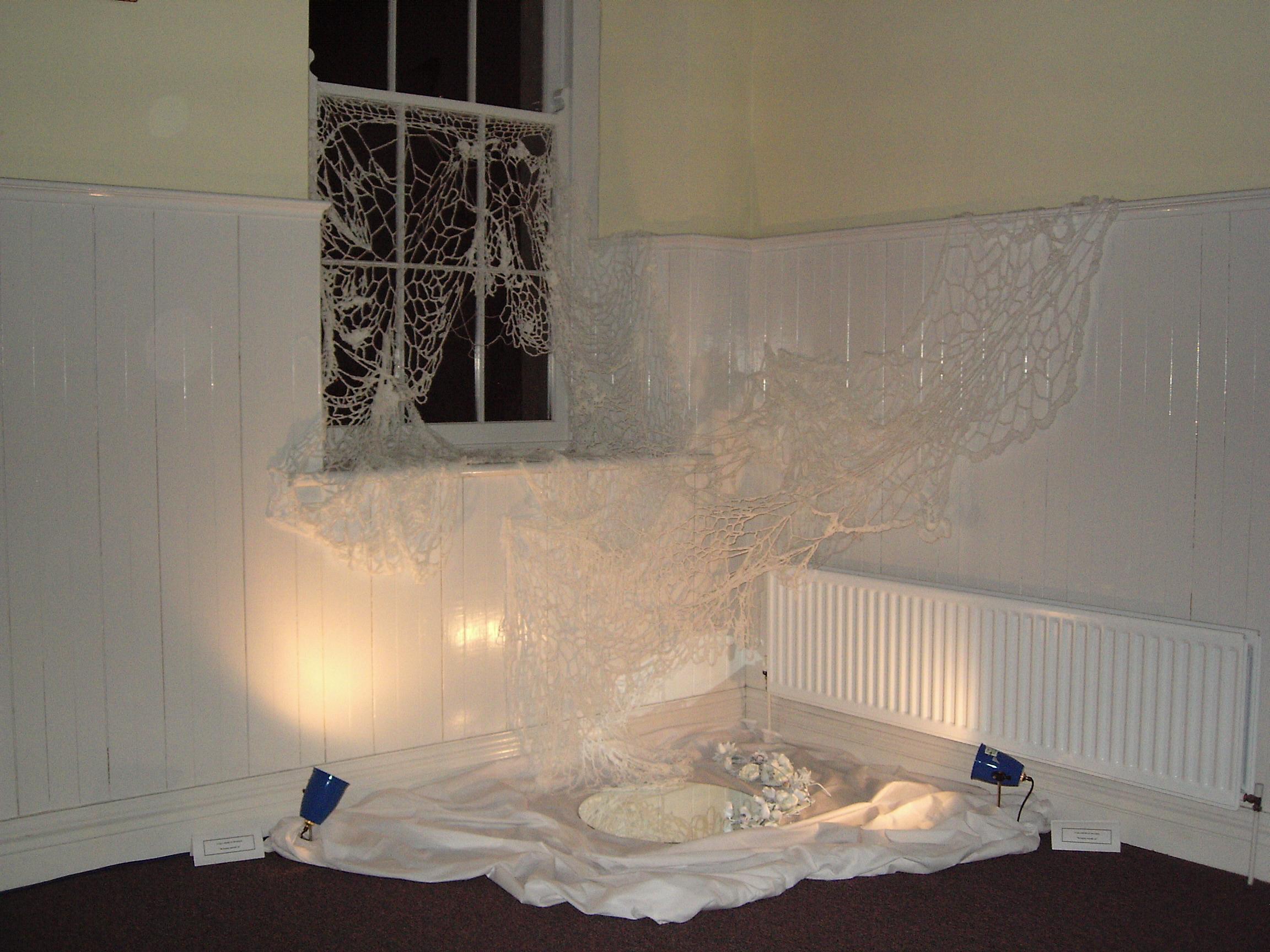 Crochet Window Installation