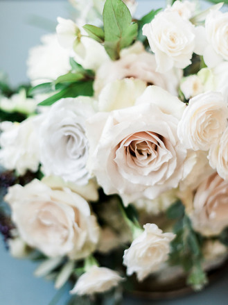 Emma Lea Floral- The Styled Soiree- Decorus Photography- Denver Civic Center Elopement | Rose | Garden Rose | Navy Berry | Blush, Ivory, Lavender | Greenery | Bouquet |
