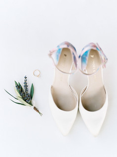 Emma Lea Floral- Purple Summer Events- Callie Hobbs Photography- Devils Thumb Ranch Colorado Wedding  | Lavender and Olive Boutonniere | Bridal Details |