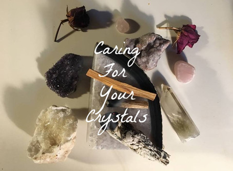 Caring for your Crystals