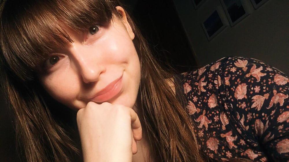 Post facial and zero make up :)