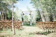 Emma Lea Floral- The Styled Soiree- Maribeth Photography- Buena Vista Colorado Wedding  | Ceremony Arch | Chiffon | Greenery | Aspen Grove |