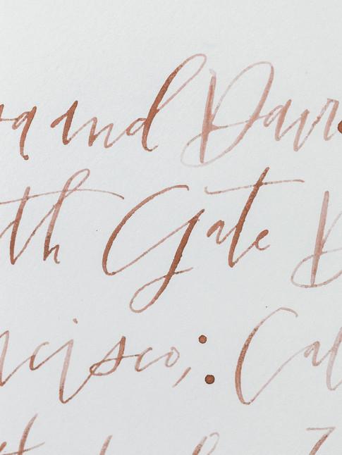 Emma Lea Floral- Sara Brown Weddings- Sara Lynn Photography- Stefanie Hofmeister Lettering & Design- Hotel Teatro | Denver Colorado Fine Art Floral Design - Wedding and Event Florist | Modern Caligraphy | Paper Goods | Wedding Vows | Flatlay|  Couture Colorado |