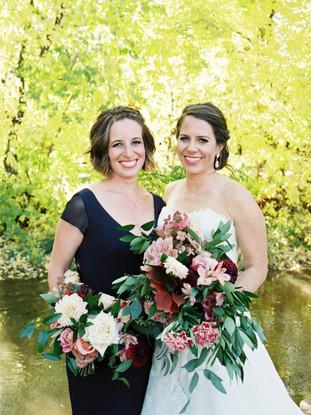 Emma Lea Floral- Purple Summer Events- Tara Bielecki Photography- Lyons Farmette Colorado Wedding   | Bridal Bouquet | Bridesmaid Bouquet | Greenery and Seasonal Flowers | Garden Rose | Dahlia | Blush, Pink, Mauve, Burgundy |