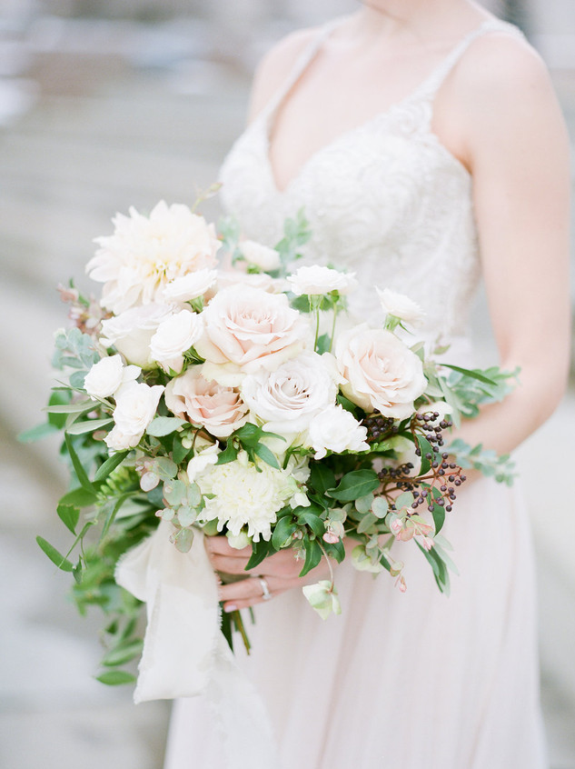 Emma Lea Floral- The Styled Soiree- Decorus Photography- Denver Civic Center Elopement
