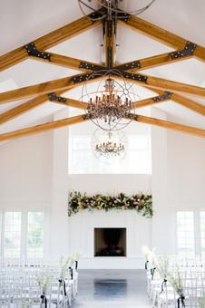 Floral Installation | Organic  Floral Design | Clean, Modern Design | Chair Bouquets |