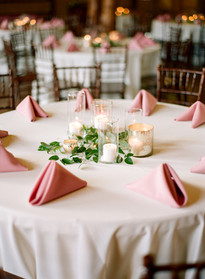 Emma Lea Floral - Cassidy Brooke Photography- Spruce Mountain Ranch Wedding - Denver Colorado Fine Art Floral Design - Wedding and Event Florist | Greenery and Candle Centerpiece