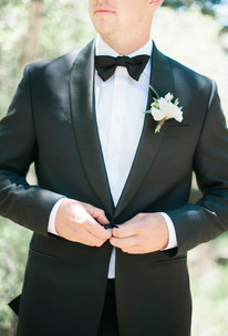 Emma Lea Floral- The Styled Soiree- Maribeth Photography- Buena Vista Colorado Wedding  | Groom | Boutonniere | Tuxedo |