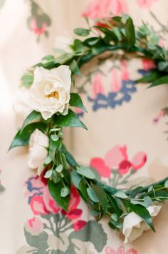 Emma Lea Floral- Purple Summer Events- Lisa O'dwyer Photography- Boulder Private Estate Colorado Wedding  | Flower Crown | Greenery | White Flowers | Flower Girl |