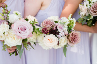 Emma Lea Floral- Candice Benjamin Photography- Denver Colorado Fine Art Floral Design - Luxury Wedding and Event Florist - The Manor House  | Garden Rose | Antique Hydrangea | Lisianthus | Dahlia | Lavender, Antique Purple, Mauve, Pink, Blush | Bridal Party | Bridesmaid Bouquets |