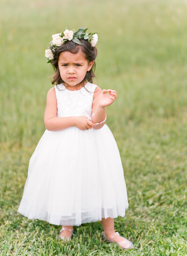 Emma Lea Floral- Purple Summer Events- Lisa O'dwyer Photography- Boulder Private Estate Colorado Wedding  | Flower Crown | Greenery | White Flowers | Flower Girl |