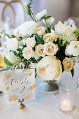 Emma Lea Floral- Purple Summer Events- Callie Hobbs Photography- Devils Thumb Ranch Colorado Wedding | Greenery | White | Blush | Floral Centerpiece | Ranunculus | Garden Rose | Olive | Spray Rose | Anemone | Navy Berries | Peony | Table Numbers |