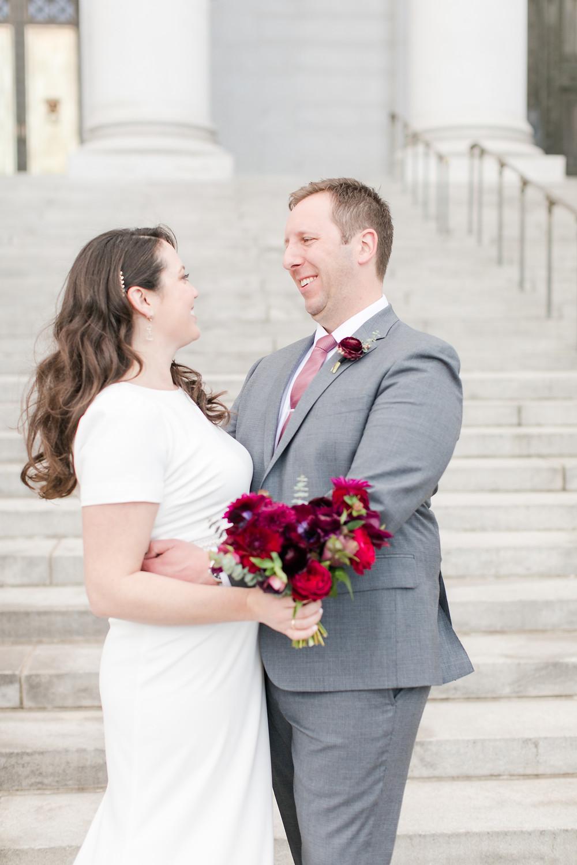 Emma Lea Floral - Sarah Hill Photography - Colorado Fine Art Wedding Florist - Denver Intimate Wedding