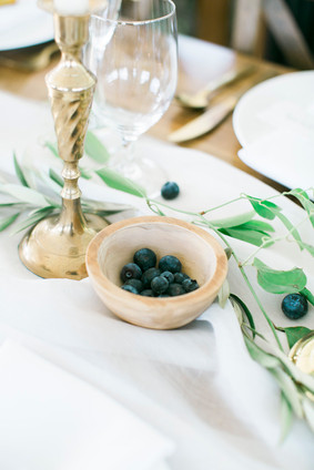 Emma Lea Floral- The Styled Soiree- Maribeth Photography- Buena Vista Colorado Wedding  | Taper Candles | Pear | Smilax | Airy Greenery Garland | White | Blush | Mauve | Chiffon Runner | Blueberry |