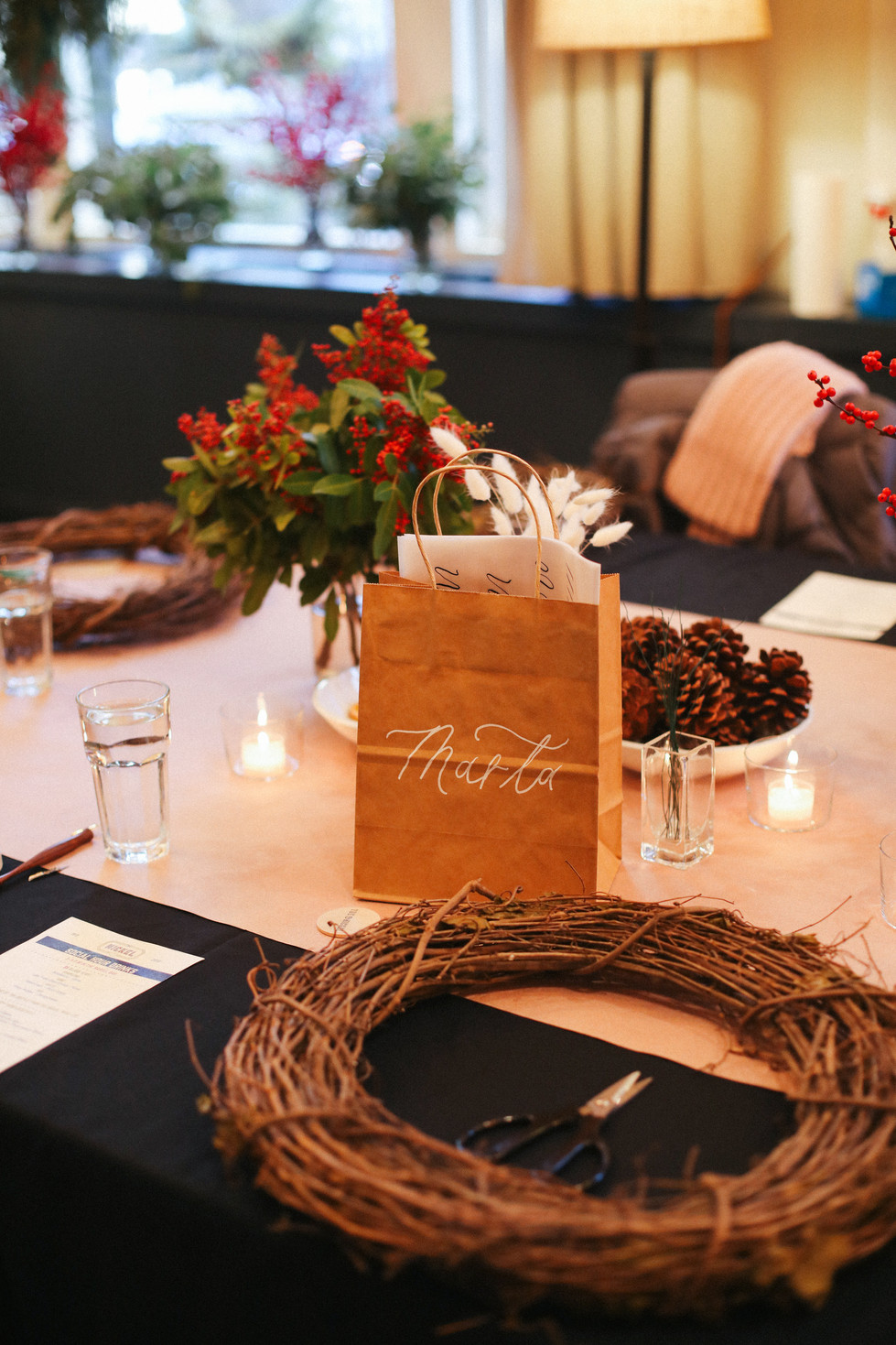 Calligraphy & Wreath Workshop - Hotel Teatro, Denver