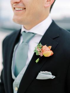 Emma Lea Floral - Erica & TJ - Purple Summer Events - Kayla Snell Photography - Downtown Denver Wedding