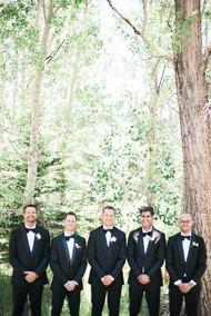 Emma Lea Floral- The Styled Soiree- Maribeth Photography- Buena Vista Colorado Wedding | Groomsman | Groom |