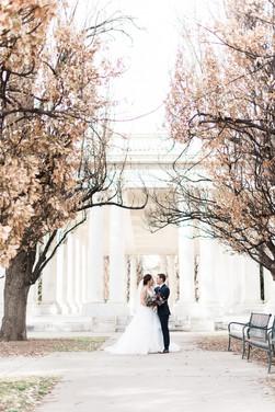 Emma Lea Floral - Purple Summer Events- Kristen Pierson Photography- Space Gallery Denver Colorado Wedding