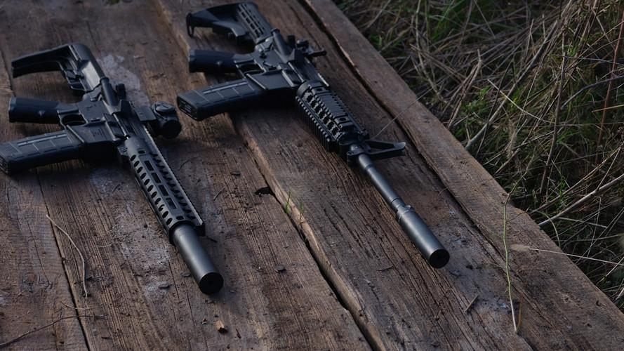 "Patriot™ Defender-LE on 10.5"" SBR / Predator™ Lynx on 16"" AR"