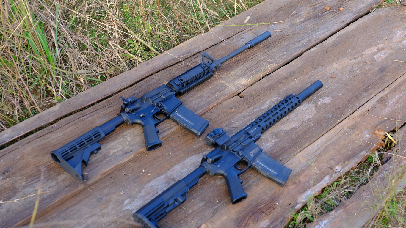 "Patriot™ Defender-LE on 10.5"" SBR / Predator™ Lynx on 16"" AR"