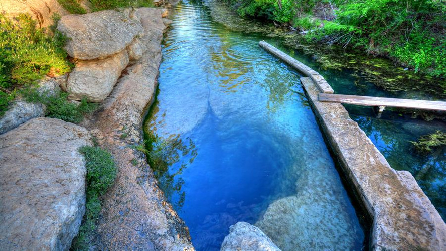 Jacob's Well is nearby