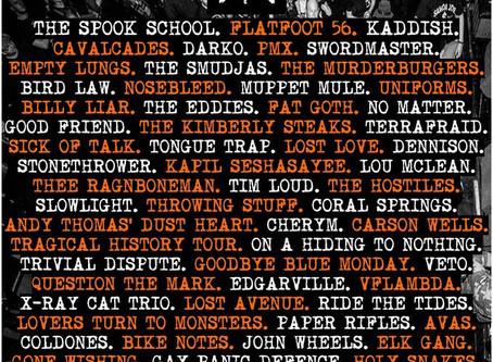 01-02-03-04/12/17 - Sunderland, UK & Dundee, UK & Dublin & Montreal